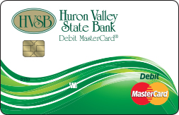 Huron Valley State Bank Debit Card
