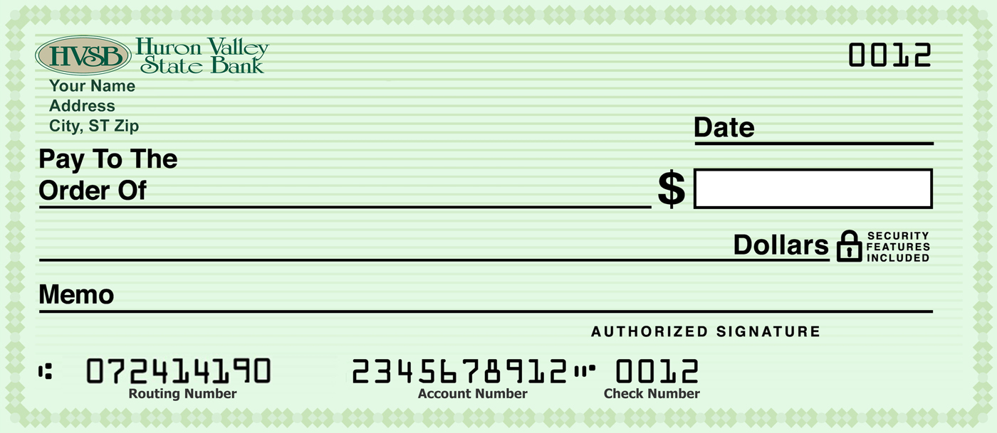 Huron Valley Bank Routing Number